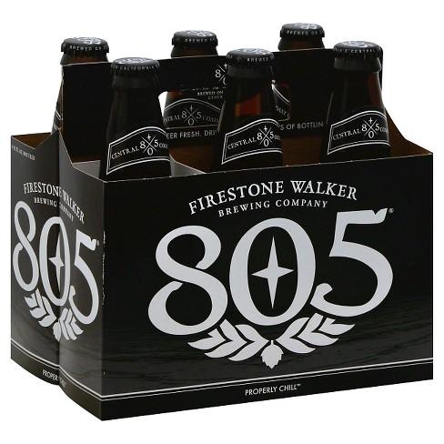Firestone Walker 805 Blonde Ale Beer  - 6pk/12 fl oz Bottles - image 1 of 1