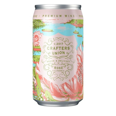Crafters Union Rose Wine - 375ml Can - image 1 of 1