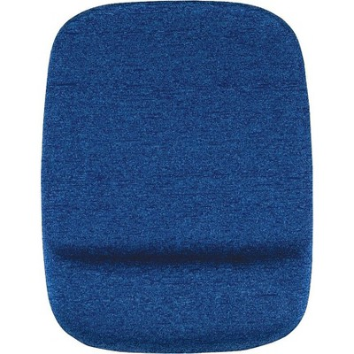 Staples Mouse Pad with Gel Wrist Rest, Blue 53328