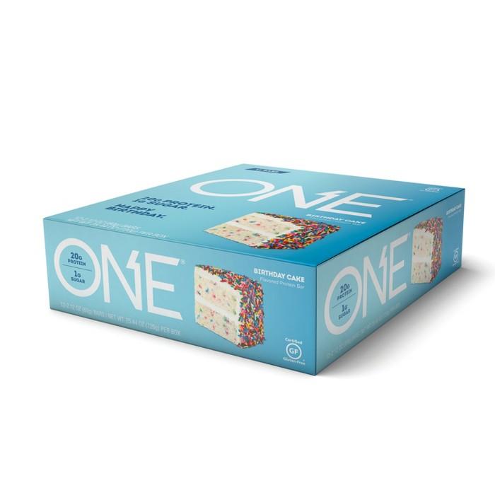 ONE Protein Bar - Birthday Cake - 12ct - image 1 of 2