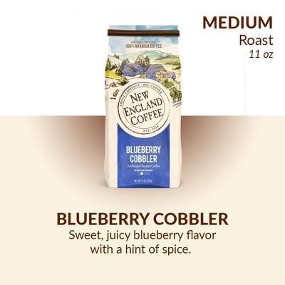 New England Blueberry Cobbler Medium Roast Ground Coffee - 11oz