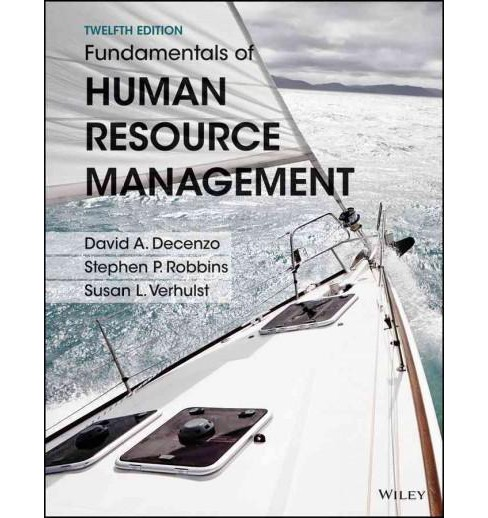 Fundamentals of Human Resource Management (Paperback) (David A. Decenzo) - image 1 of 1