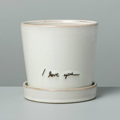 'I Love You' Garden Planter Sour Cream - Hearth & Hand™ with Magnolia