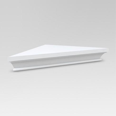 Classic Corner Shelf - White - Threshold™ : Target