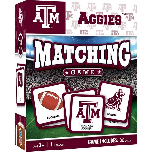 NCAA Texas A&M Aggies Matching Game - image 1 of 2