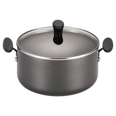 Farberware Reliance 5qt Aluminum Nonstick Dutch Oven with Lid Black