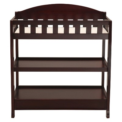 Delta Children® Infant Changing Table with Pad - Espresso Cherry