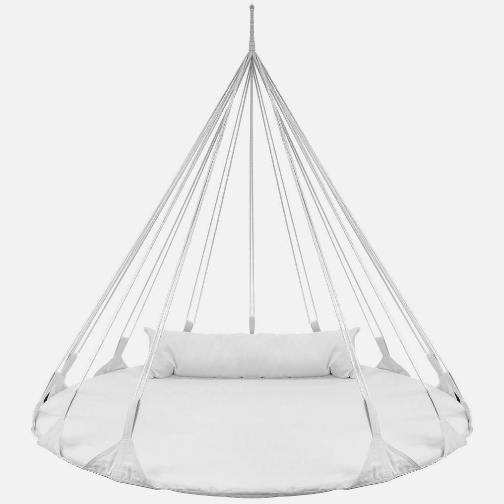 Patio Nest Swing - White - Sorbus