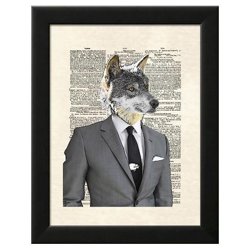 Wolf Of Wall Street Framed Art Print : Target