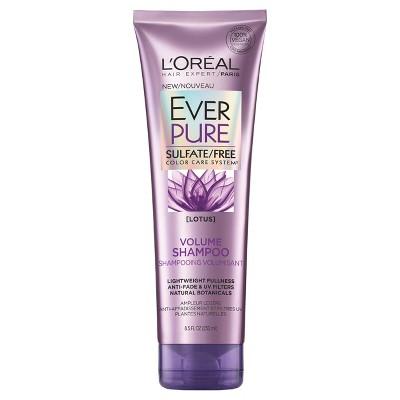 Shampoo & Conditioner: L'Oreal Paris EverPure Volume