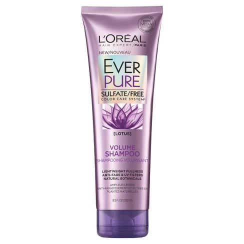 L Oreal Paris Everpure Sulfate Free Volume Shampoo 8 5 Fl Oz