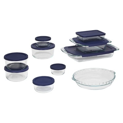 Pyrex 19 Piece Bake and Store Set Clear
