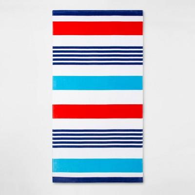 Americana Stripe Beach Towel - Sun Squad™