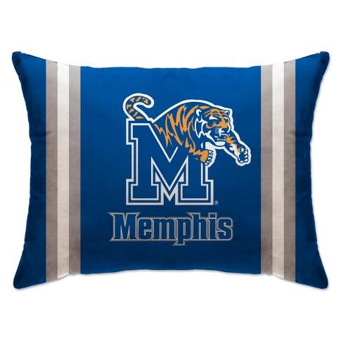"NCAA Memphis Tigers 20""x26"" Standard Logo Bed Pillow - image 1 of 1"