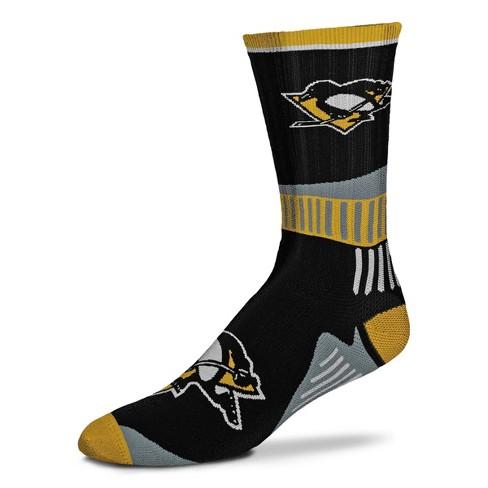 NHL Pittsburgh Penguins Sport Big Crew Sock - image 1 of 1