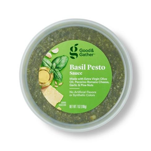 Basil Pesto Sauce - 7oz - Good & Gather™ - image 1 of 3