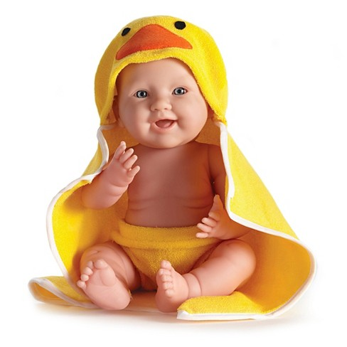 "JC Toys Rubber Ducky Realistic 17"" Anatomically Correct Real Boy All Vinyl Baby Doll Designed by Berenguer - image 1 of 6"