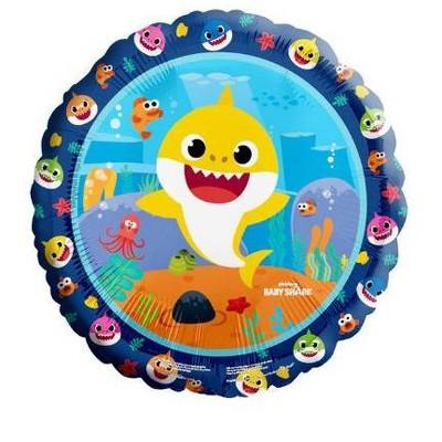 "Birthday Express Baby Shark 18"" Foil Balloon"