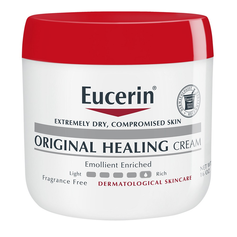 Unscented Eucerin Original Healing Soothing Creme - 16oz