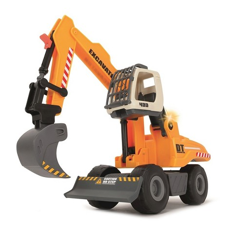 Dickie Toys - Light and Sound Construction Digger Vehicle - image 1 of 7