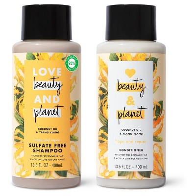 Love Beauty and Planet Ylang Shampoo and Conditioner - 2pk/13.5 fl oz