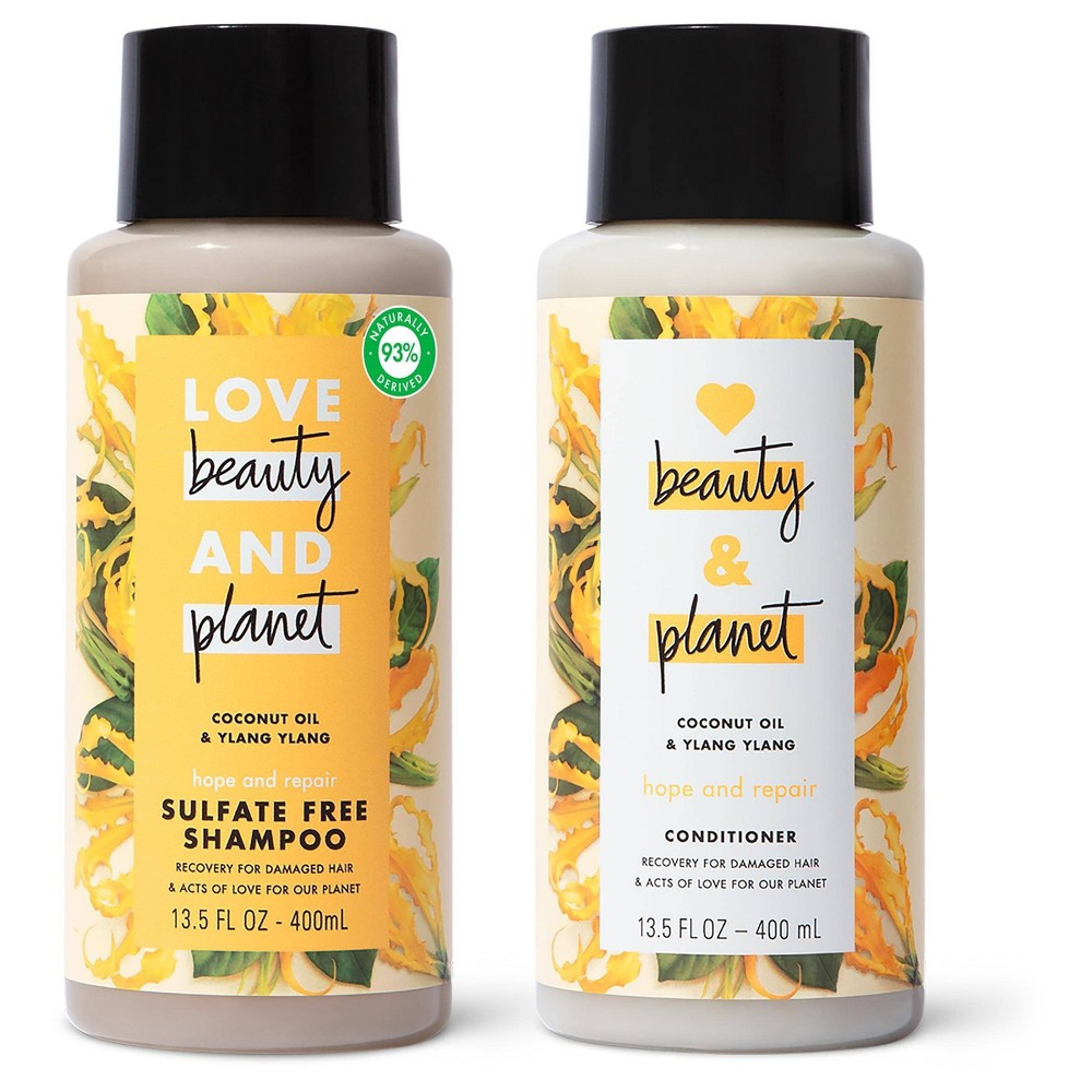 Love Beauty And Planet Ylang Shampoo And Conditioner 2pk 13 5 Fl Oz