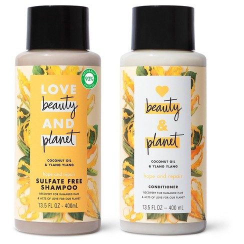 Love Beauty and Planet Ylang Shampoo and Conditioner - 2pk/13.5 fl oz - image 1 of 4