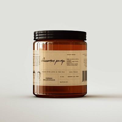 Cinnamon Pump Candle - Freres Branchiaux