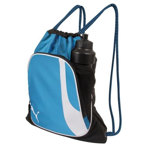 11d3633563 Puma Squad Drawstring Bag - Blue Grid   Target
