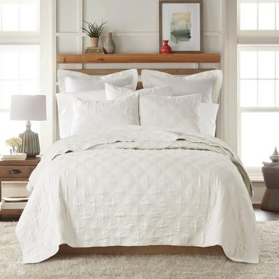 Linen Front/Cotton Back Quilt - Levtex Home