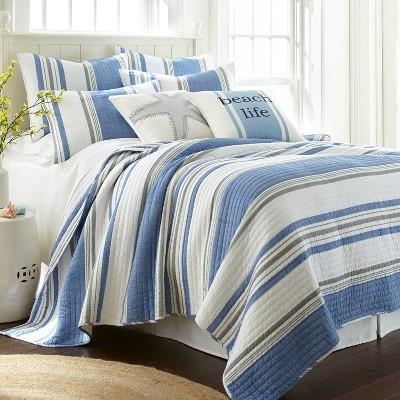 St Bart Quilt and Pillow Sham Set - Levtex Home