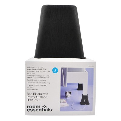 USB Power Bed Risers - Room Essentials™