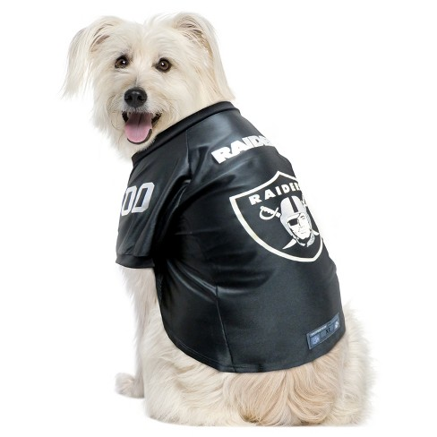 2d861926d Oakland Raiders Little Earth Pet Premium Football Jersey - Black L ...
