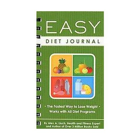 easy diet journal the fastest way to lose weight works with all