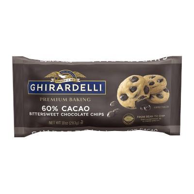 Ghirardelli 60% Cacao Bittersweet Chocolate Premium Baking Chips - 10oz