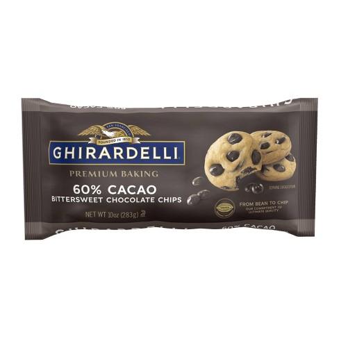 Ghirardelli 60% Cacao Bittersweet Chocolate Premium Baking Chips - 10oz - image 1 of 3