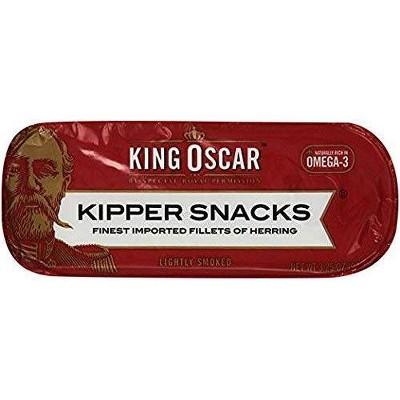 King Oscar Kipper Snacks - 3.25oz