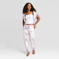 Women's Tie-Dye Lounge Jogger Pants - Colsie™ Purple