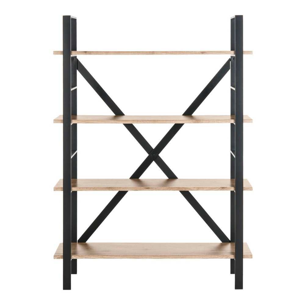 4 Tier Raylan Etagere Oak (Brown) - Safavieh