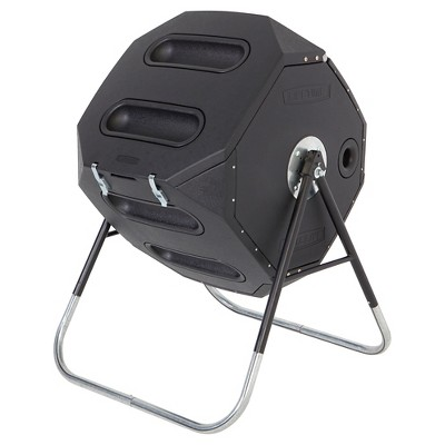 Compost Tumbler 65 Gallon - Black - Lifetime