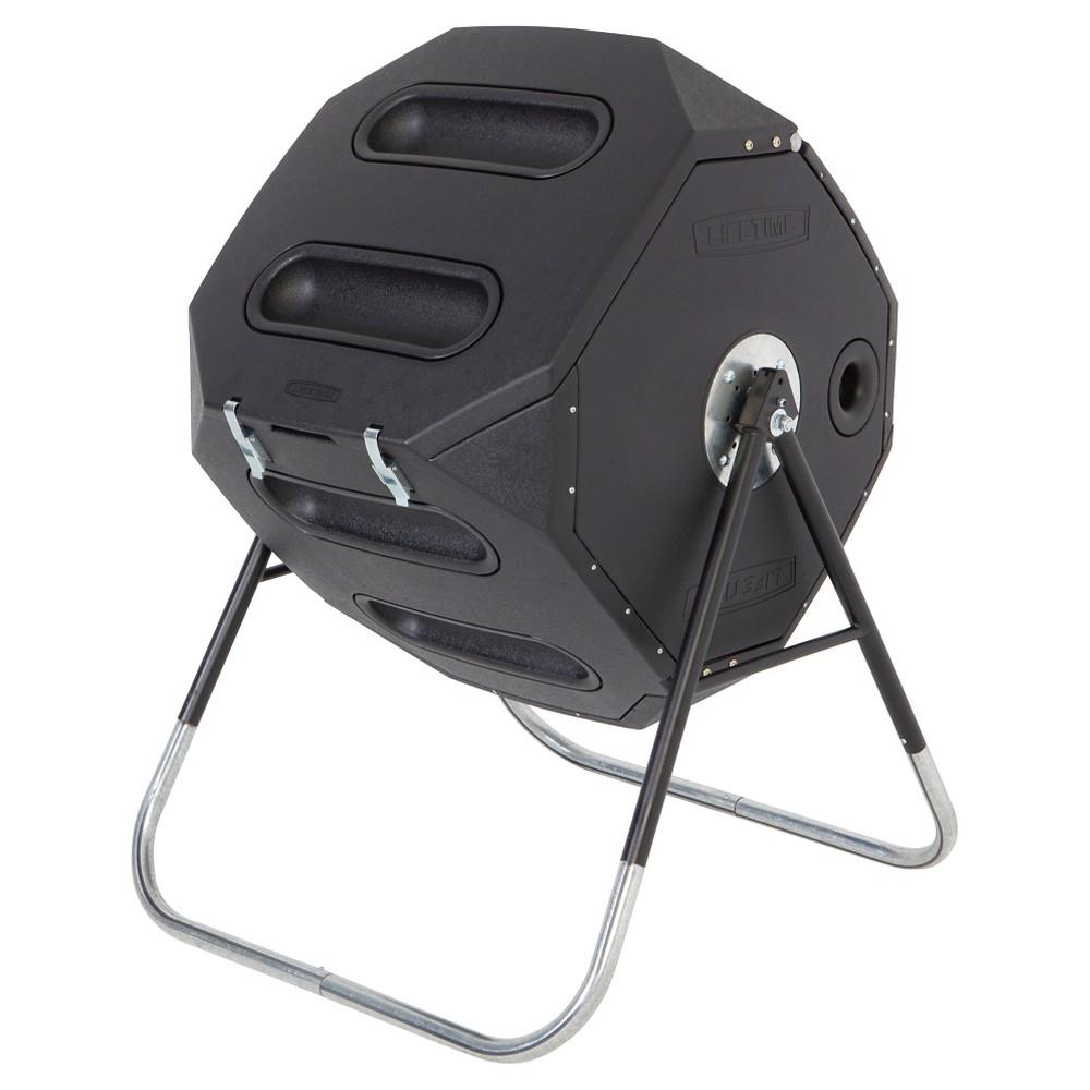Image of Compost Tumbler 65 Gallon - Black - Lifetime