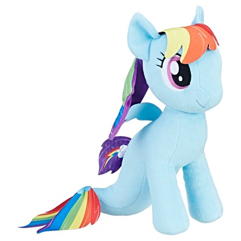 My Little Pony the Movie Rainbow Dash Sea-Pony Cuddly Plush - image 1 of 2