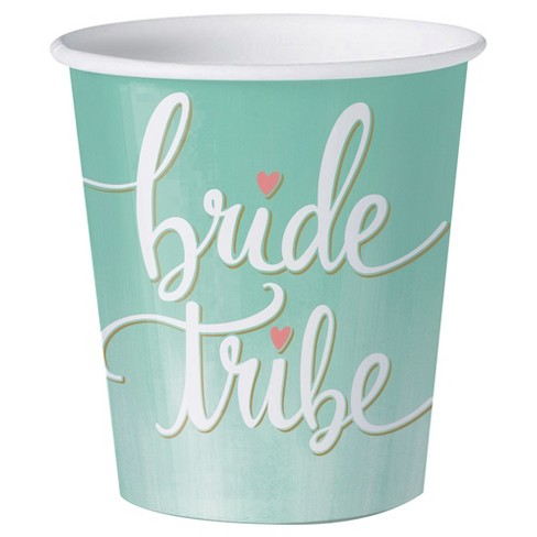 12ct Mint To Be Bridal Shower Paper Shot Glass Target