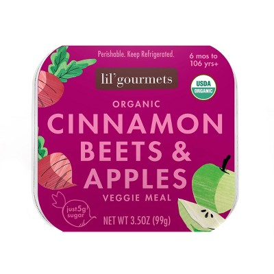 Lil' Gourmets Organic Cinnamon Beets & Apples Baby Meals - 3.5oz