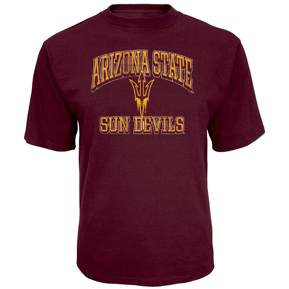 NCAA Men's Short Sleeve TC T-Shirt Arizona State Sun Devils - S, Multicolored