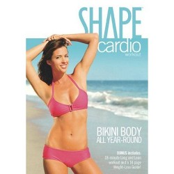 Shape Cardio Workout Bikini Body All Year Round (DVD)