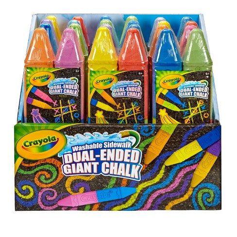 Crayola® Dual Ended Giant Chalk, 2ct - Multicolor - image 1 of 5
