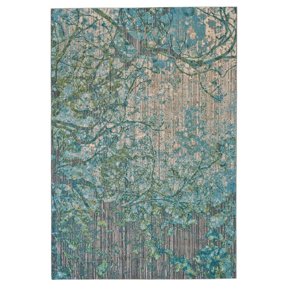 7'10X11' Tree Loomed Area Rugs Capri - Room Envy, Blue