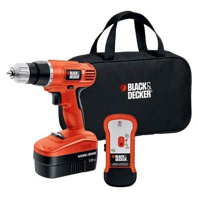BLACK+DECKER 18V Power Drills with Stud Finder
