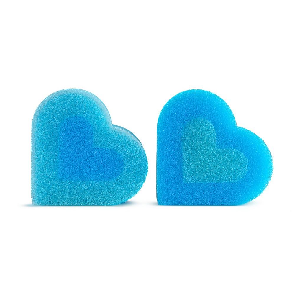 Image of Munchkin 2pk Suds Up Cleaning Sponge Refills - Blue
